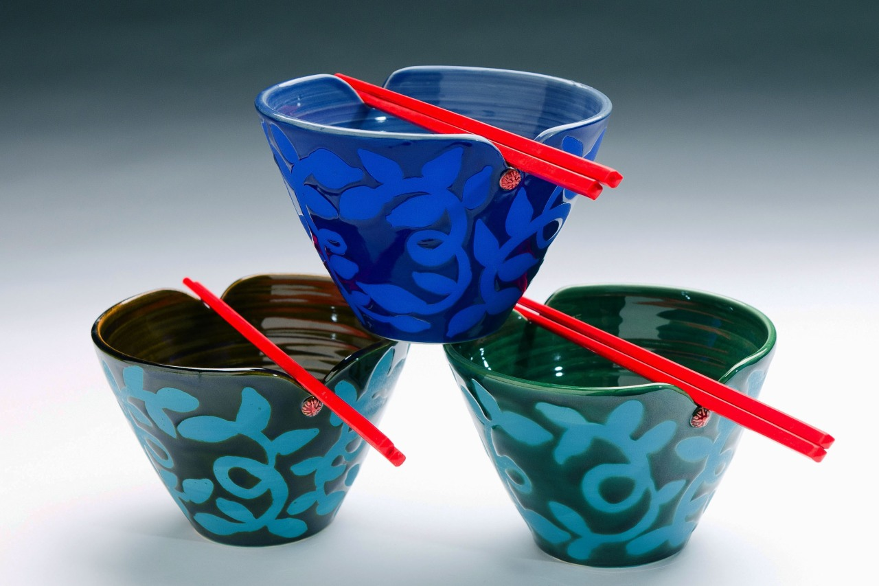 Asian Chopstick Bowls