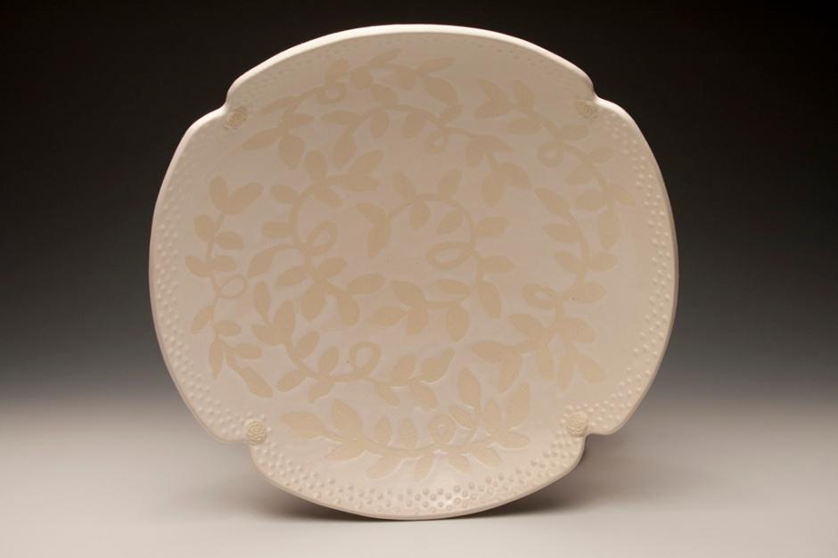 white wedding bowl